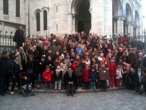 Pélerinage des familles à Montmartre, 19 mars 2011