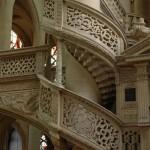Détail du jubé (un escalier)