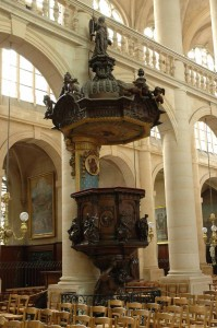 The baroque pulpit