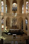 Le choeur gothique et le maître-autel