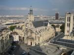 L'église, vue aérienne
