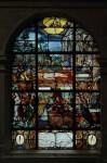 Le vitrail du Pressoir mystique
