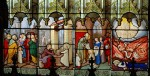 Vitraux : la vie de Sainte Geneviève