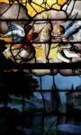 Déambulatoire - vitrail de Saint-Etienne
