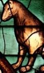 Déambulatoire - vitrail de Saint Etienne