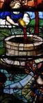 Vitrail, détail (pressoir mystique) - Window of the Mystical Wine-press, detail
