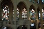 Les vitraux du déambulatoire